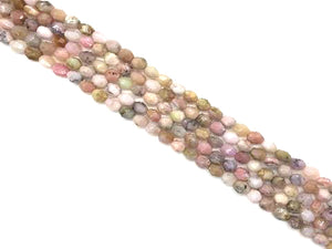 Pink Opal Faceted Free Form 8-15Mm