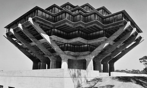 Geisel Library, University of California, San Diego.