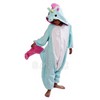 Blue Unicorn Kid Kigurumi, Unicorn Costume for Kids