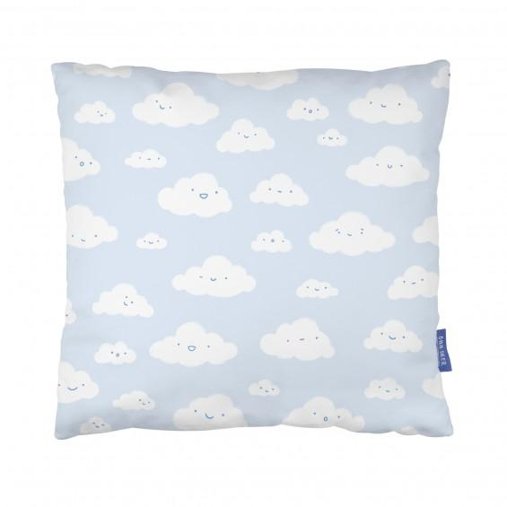 Happy Little Clouds Pillow
