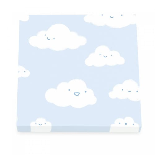 Happy Little Clouds Sticky Notes