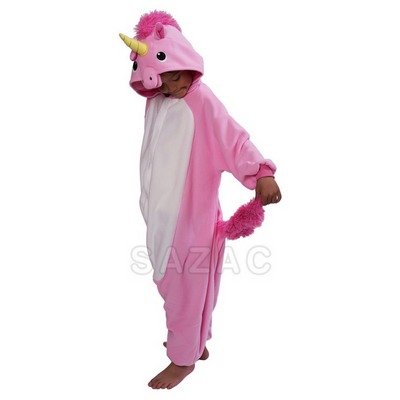 Pink Unicorn Onesie Kid 2