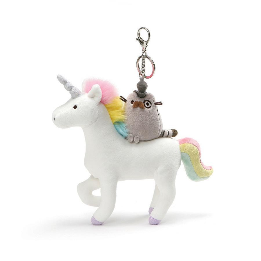 Pusheen Fancy Unicorn Keychain