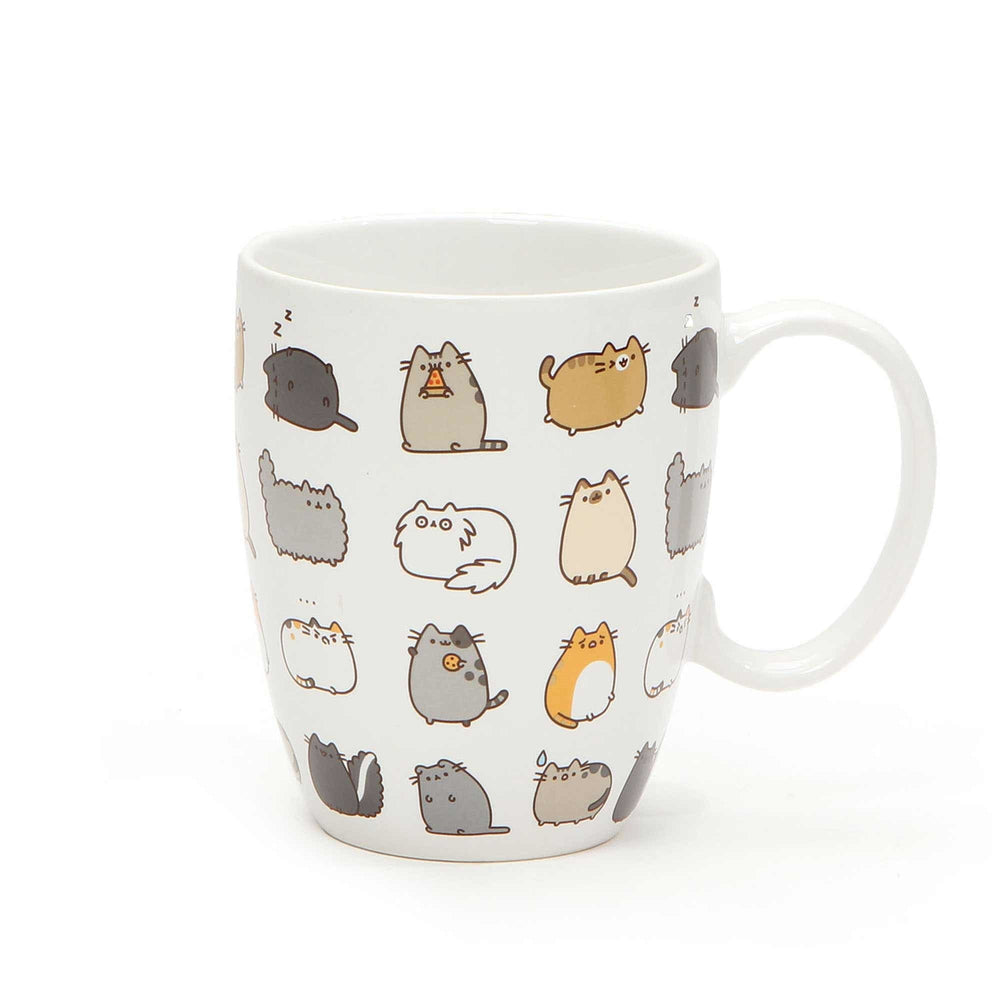 Pusheen Kitties Mug and Coaster Set