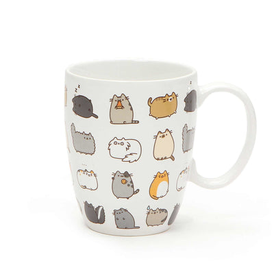Pusheen Kitties Mug and Coaster Set - Kutame