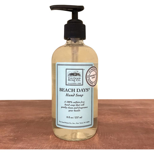 The Good Home Co. Beach Days Hand Soap 8oz