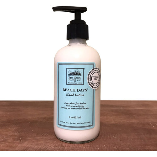 The Good Home Co. Beach Days Hand Lotion 8oz