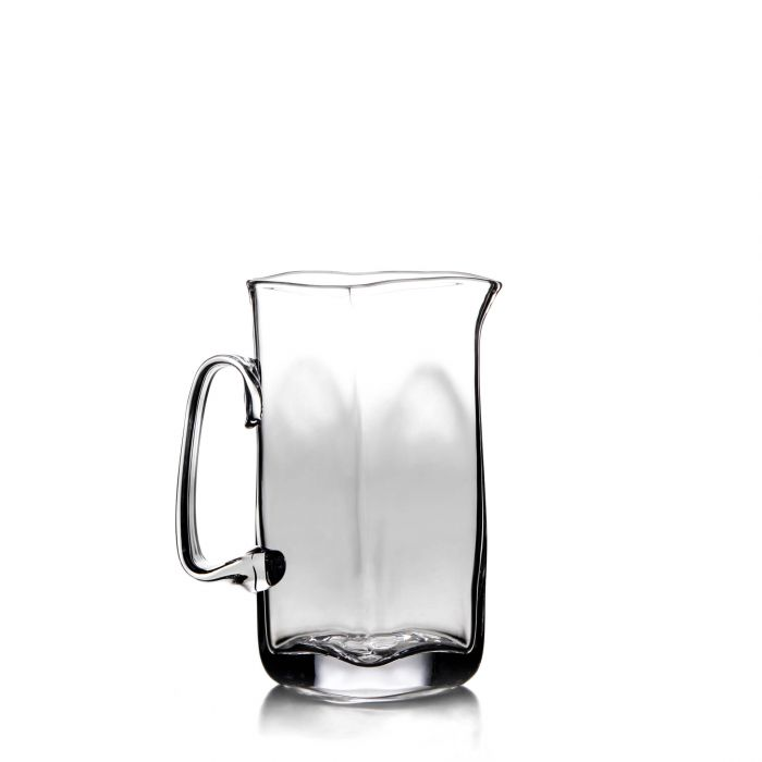 Simon Pearce Woodbury Glass Pitcher - Large