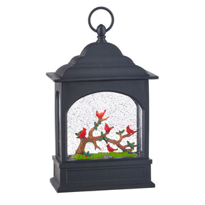 "11"" CARDINAL LIGHTED WATER LANTERN"