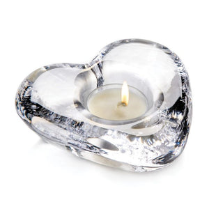 Simon Pearce Highgate Heart Tealight (Gift Boxed)