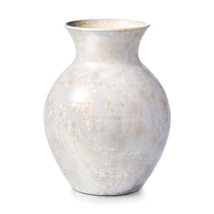 Simon Pearce Curio Candent White Crystalline Vase - Large