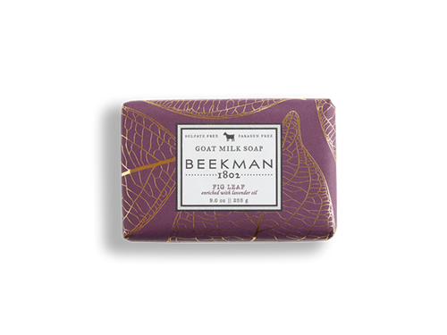 Beekman 1802 Fig Leaf Goat Milk Soap