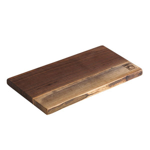 Andrew Pearce Single Live Edge Cutting Board in Black Walnut