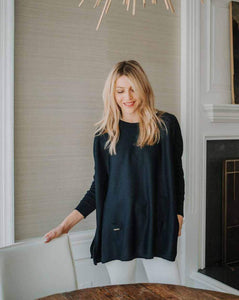 Mer|Sea The Catalina Sweater - Navy