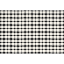 Load image into Gallery viewer, Black Painted Check Paper Placemats