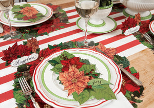 Poinsettia Paper Table Accent