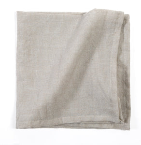 PomPom Linen Napkin - Natural (Set of 4)