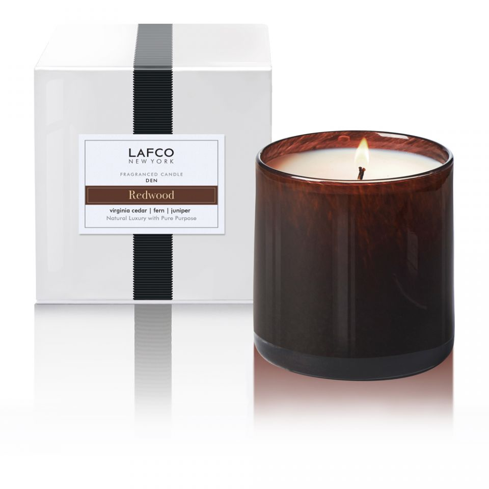 LAFCO Den Candle Redwood