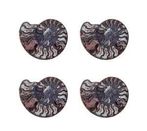 Kim Seybert Swirl Coaster - Set of 4