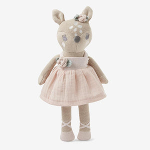 "Elegant Baby 10"" Fifi Fawn Baby Knit Toy with Gift Box"