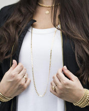 "Load image into Gallery viewer, enewton 41"" Necklace Infinity Chic Chain - Gold"
