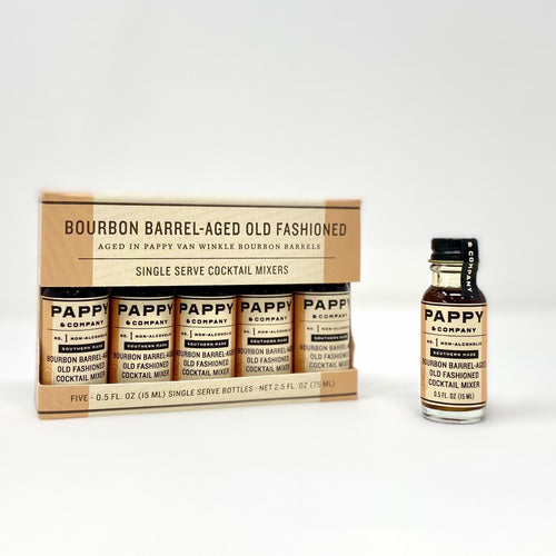 Bittermilk Pappy Van Winkle Bourbon Barrel Aged Old Fashioned Mix - Single Serve 5 Pack