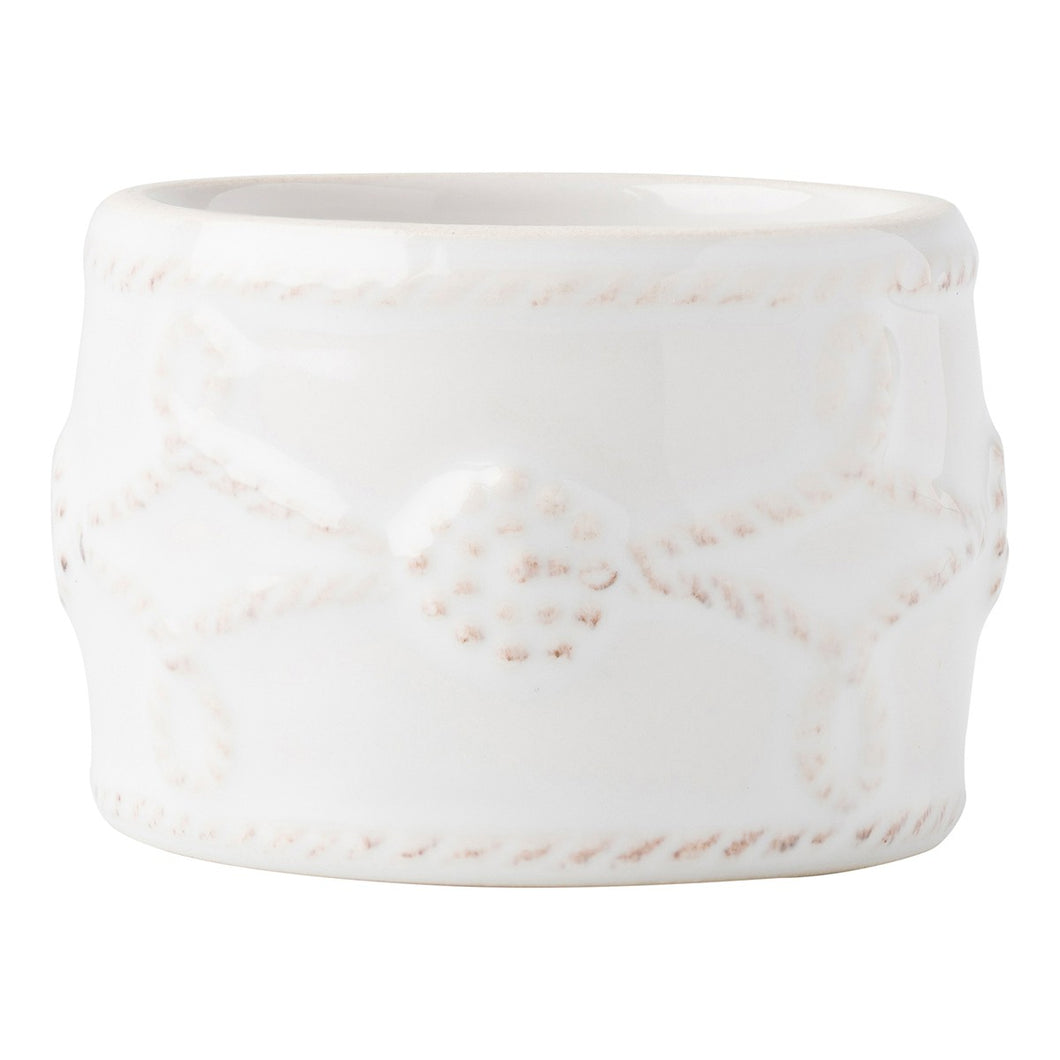 Juliska Berry & Thread Whitewash Napkin Ring