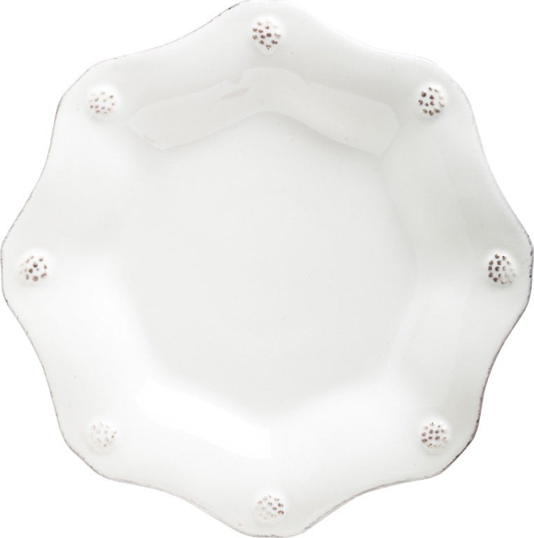 Juliska Berry & Thread Whitewash Scalloped Tea Plate