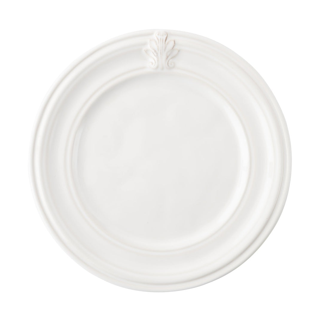 Juliska Acanthus Whitewash Side/Cocktail Plate