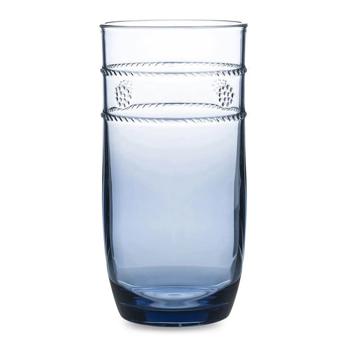 Juliska Isabella Acrylic Blue Large Beverage