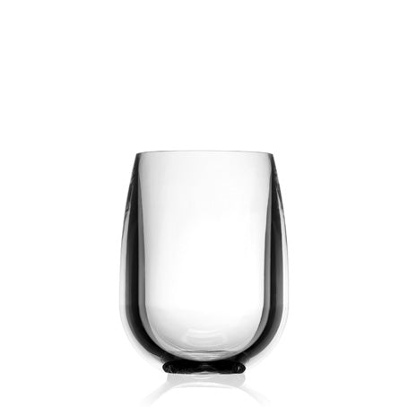 Acrylic Stemless Wine Glass Clear