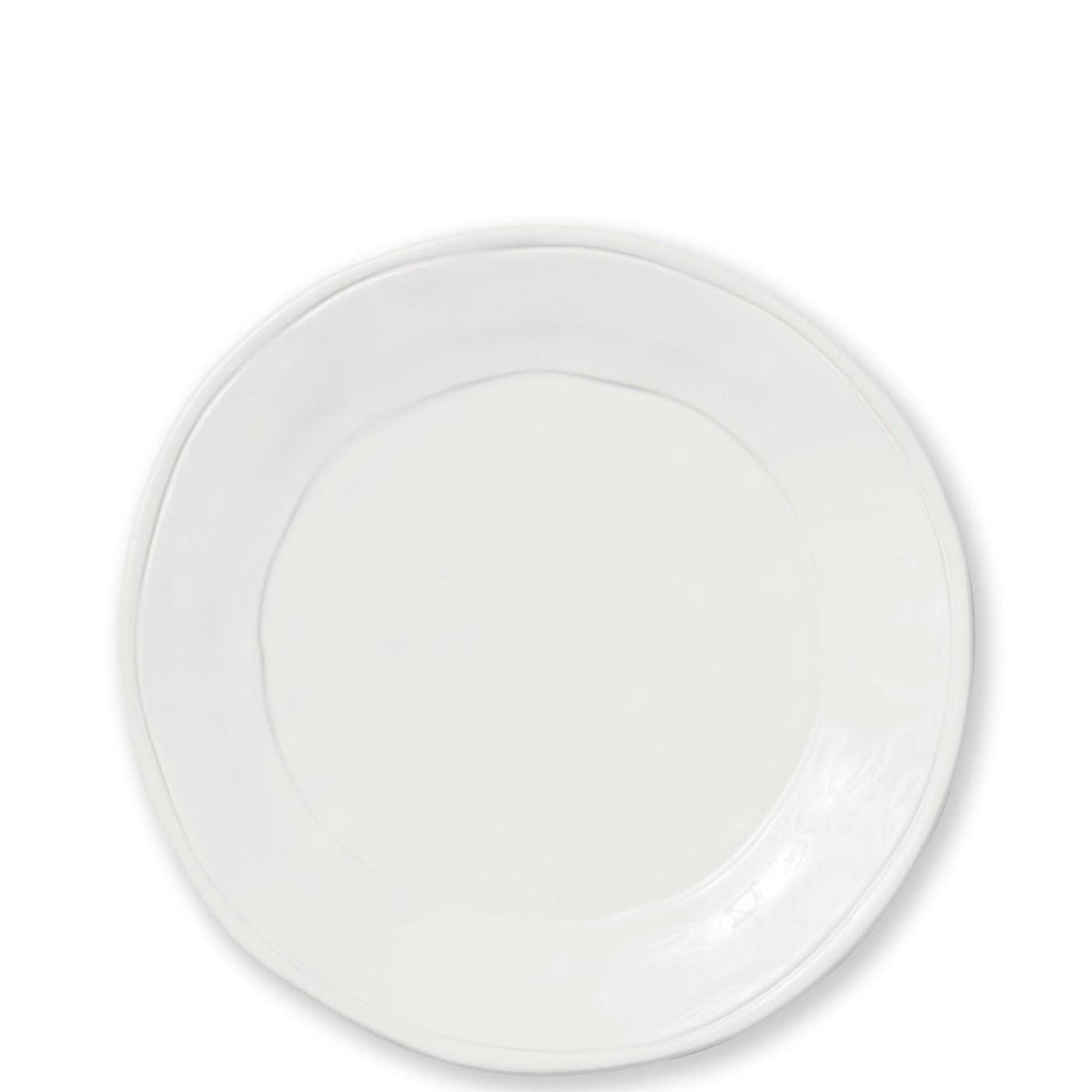 Vietri Fresh White Dinner Plate