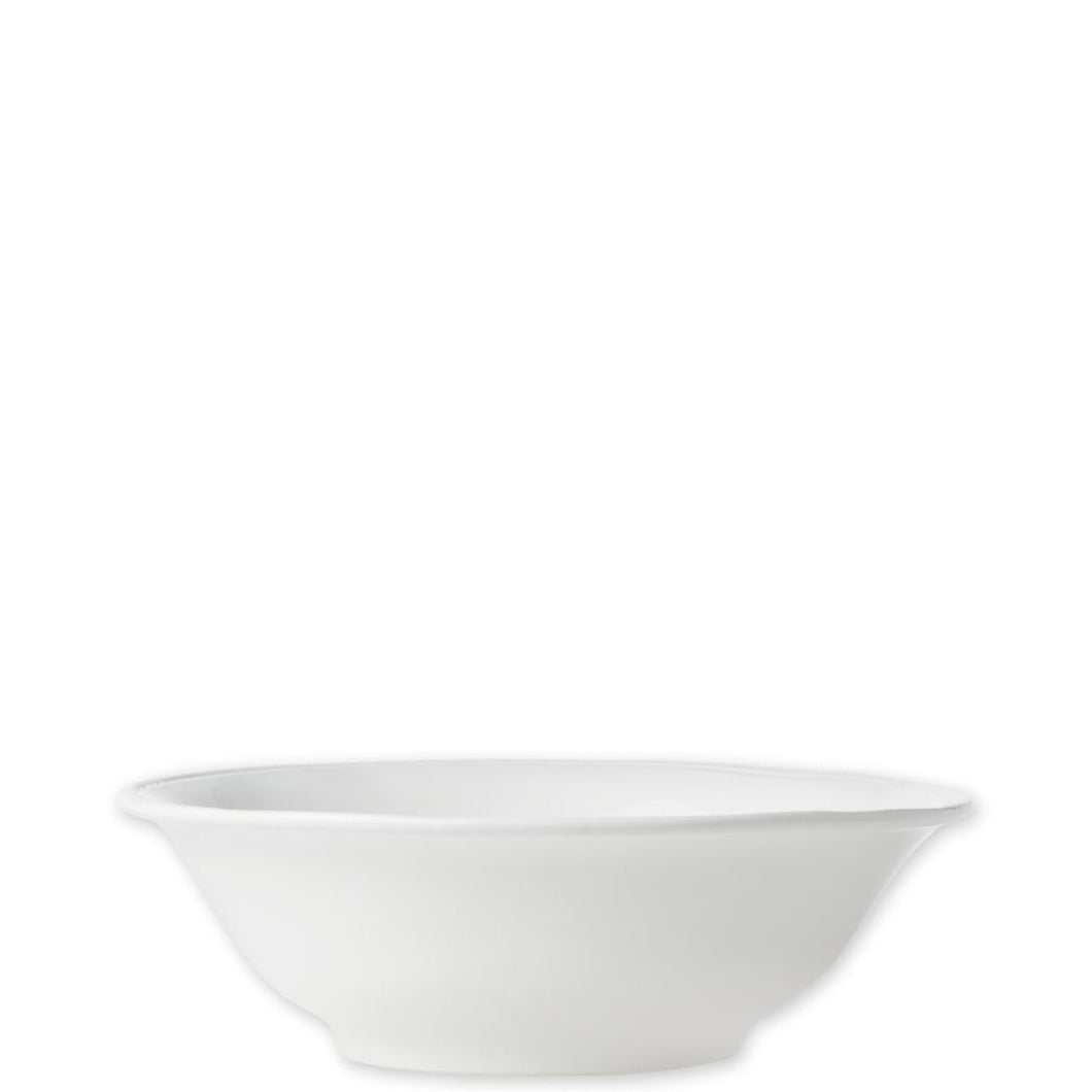 Vietri Fresh White Small Oval Bowl