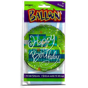 "18"" Helium Balloon - Happy Birthday"