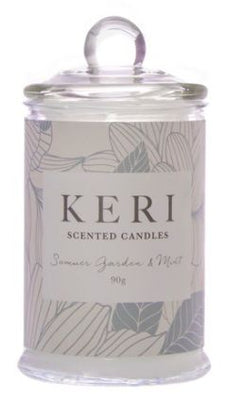 Scented Jar Candle Eden Summer Garden & Mint 90g (6x11cmH)