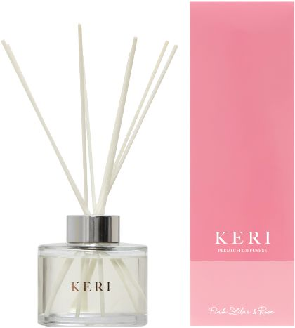 Keri Luxury Diffuser Pink Lilac & Rose 200ml