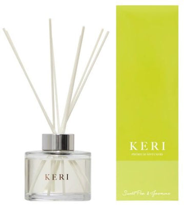 Keri Luxury Diffuser Sweet Pea & Jasmine 200ml