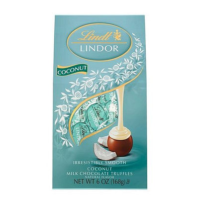 Lindt Lindor Coconut Milk Chocolate Truffles - 150g