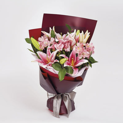 Pink Asiatic Lillies