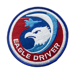 F-15C Eagle Driver Patch (4-inch)