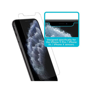 Tech Armor Anti-Glare Screen Protector for Apple iPhone 11 Pro / X / XS [3-Pack]