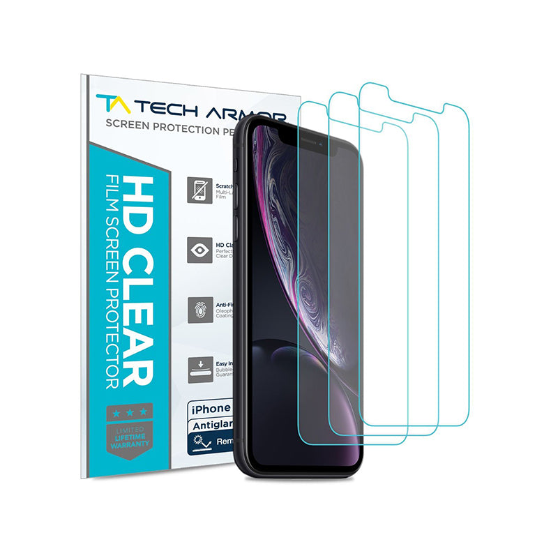 Tech Armor Anti-Glare Screen Protector for Apple iPhone 11 Pro Max / iPhone XS Max [3-Pack]