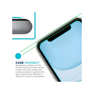 Tech Armor Premium HD Clear Ballistic Glass Screen Protector for Apple iPhone 11 / iPhone XR - [3-Pack]