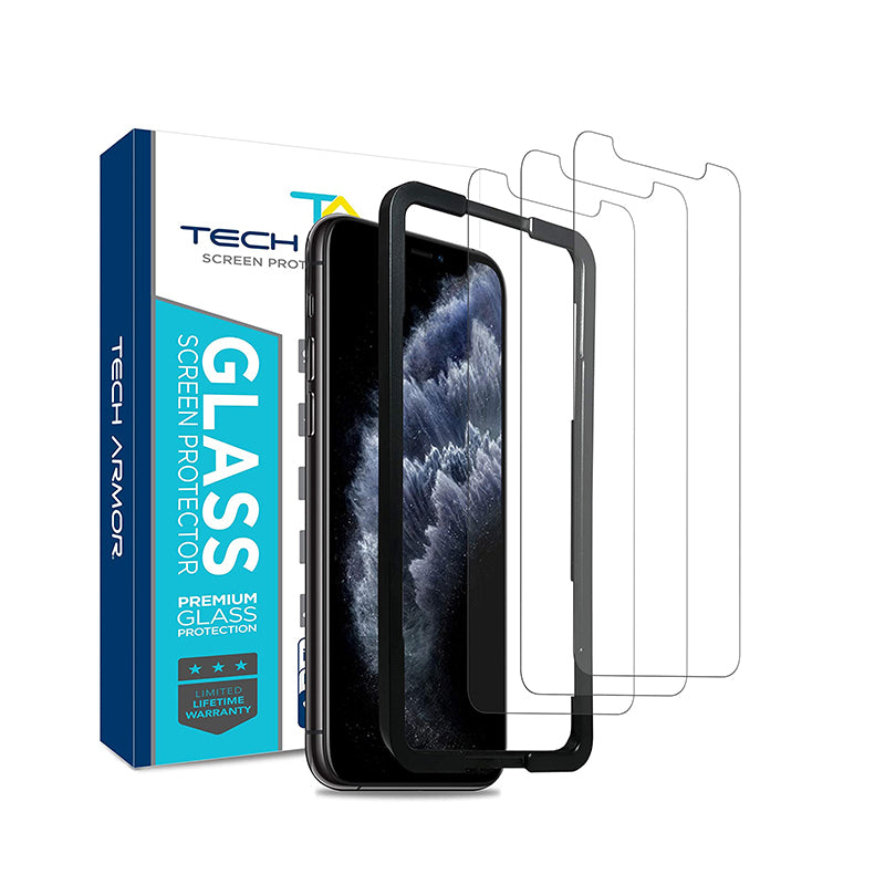 Tech Armor Ballistic Glass Screen Protector for Apple 11 Pro Max/ iPhone XS Max - [3-Pack]