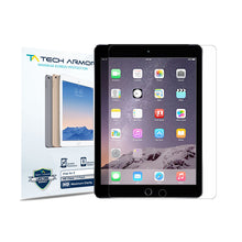 Load image into Gallery viewer, Tech Armor HD Clear Film Screen Protector for Apple iPad Air 1/2 [2-Pack]