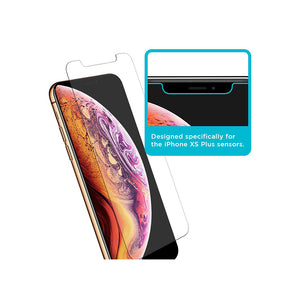 Tech Armor HD Clear Plastic Film Screen Protector for Apple iPhone 11 Pro Max / iPhone XS Max [4-Pack]