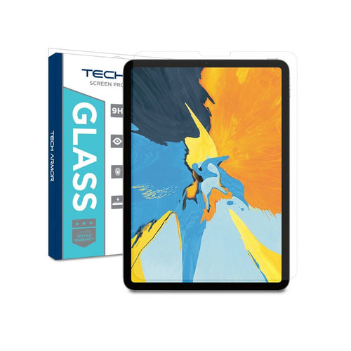 Tech Armor Ultra-Thin (0.25mm) Ballistic Glass Screen Protector for iPad Pro 11 - [1-Pack]