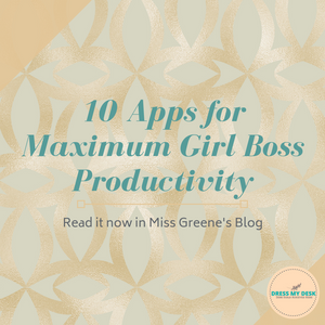 Productivity Apps For Girl Bosses