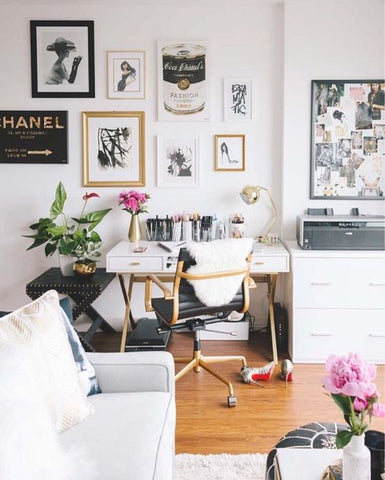 Top 5 No Fail Styles For Your Home Office Dress My Desk