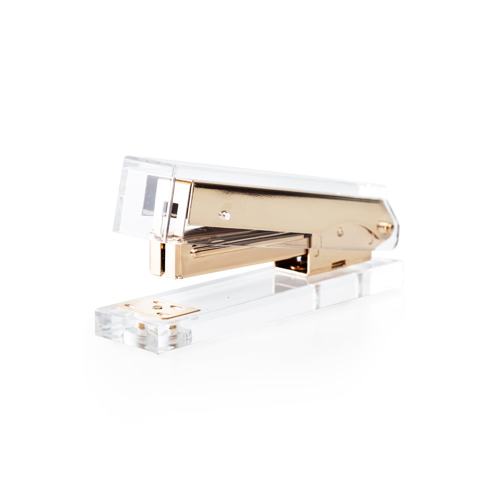 Gold Clear Stapler